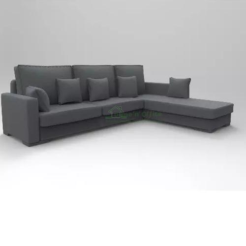Lara L Shaped Sofa Gray Home N Office Interior Design
